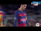 El gesto de Messi con Neymar en la Champions