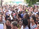 Cubanos protestan tras imposición de visa de Ecuador