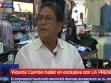 Vicente Carrión desmiente acusaciones en su contra