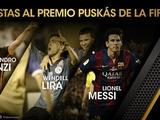 Los finalistas del Puskas