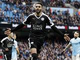 El golazo de crack de Riyad Mahrez del Leicester