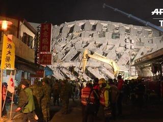 Al menos 11 muertos deja sismo en Taiwan