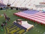Lady Gaga interpretó el himno de EUA en el Super Bowl 50
