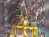 El sensual baile de la hermana de Neymar por carnaval
