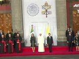 Francisco y Peña Nieto en el Palacio Nacional