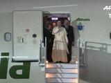 Mexicanos salen a las calles a encontrarse con el Papa