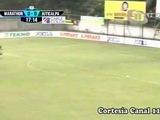 Gol de William Zapata (Marathón) vs Juticalpa