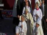 El Papa celebró su primer misa en la Basílica de Guadalupe
