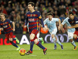 El insólito penal-asistencia de Messi para Luis Suárez