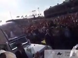 Arrojan camiseta del Cruz Azul al Papa Francisco