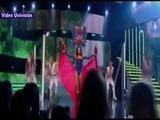 Nathalia Casco en traje típico en NB Latina VIP