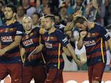 Real Betis 0 -2 Barcelona (Liga de Espa༚)
