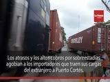 Atrasos en terminal de contenedores en Puerto Cortés