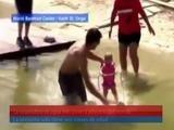 La esquiadora de agua más joven y adorable del mundo