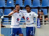 Gol del Choco Lozano con el Tenerife
