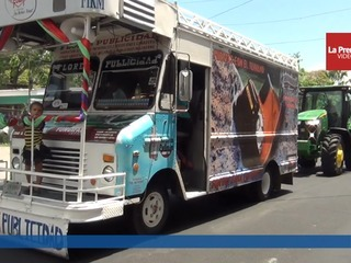Unos 300 jinetes participaron del gran desfile hípico del Agas