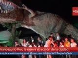 Tiranosaurio rex la nueva atracción del museo para la infancia