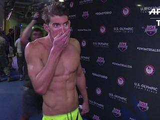 Phelps clasifica para Río-2016 al ganar los 200m mariposa