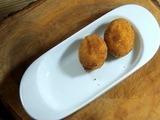 Buñuelos de yuca con queso
