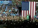 Clinton y Kaine unen experiencia en su primer mitin en Miami