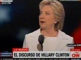Hillary acepta nominación a la Presidencia de EUA