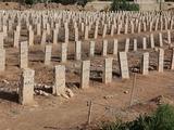 En Siria, tumbas más profundas para mayor número de muertos