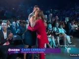 El beso que le dió El Señor de los Cielo a la dr. Polo