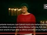 Juan Gabriel muere a causa de un infarto en su casa en California