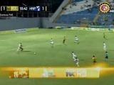 Domingo Zalazar anota el 2-1 contra el Honduras Progreso