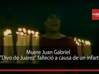 Muere Juan Gabriel a causa de un infarto