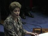 Rousseff a los senadores: impidan un