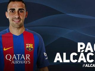 Paco Alcácer, nuevo fichaje del Barcelona