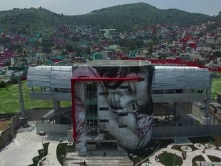 Arte urbano en una de las localidades más peligrosas de México