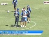 Pinto exige manejo de pelota