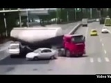 Mortal accidente en China