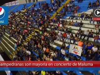 Sampedranas ansiosas por concierto de Maluma en SPS