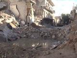 Intensos bombardeos sobre Alepo