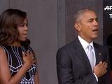 Obama inaugura museo afroamericano entre tensión racial