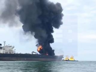 Pemex descarta por ahora una fuga de combustible tras explosión en buque cisterna