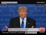 Así fue el primer debate entre Donald Trump y Hillary Clinton