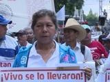 Marchan en México a 2 años de la desaparición de 43 estudiantes