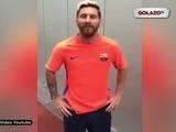 El saludo de Messi a Totti por su cumpleaños 40