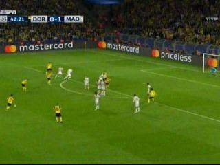 El erro de Keylor Navas en el empate del Borussia