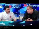 Parlamentarios europeos protagonizan pelea en televisión