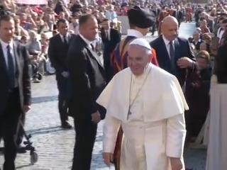 El Papa muestra su dolor por la