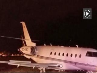 Se estrella avión de Cristiano Ronaldo en Barcelona