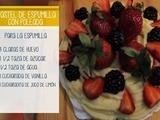 Aprenda a hacer pastel de espumilla con poleada