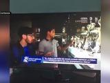 Hondureños sorprendidos por Real Madrid TV en el Santiago Bernabéu