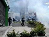 Policía dispersa con gases protesta de indígenas en Honduras