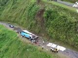 Doce muertos en accidente de tránsito en Costa Rica